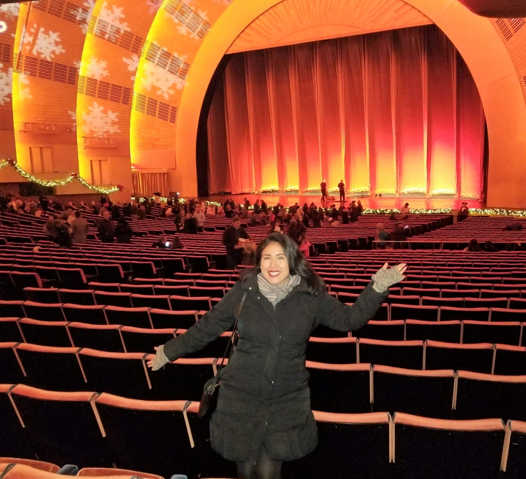 tis the season christmas spectacular at radio city peruvian chica in nyc - How Long Is The Radio City Christmas Show